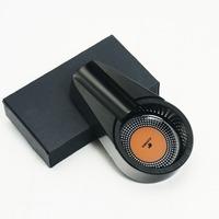 COHIBA Black Small Size Titanium Alloy Metal Cigar Ashtray New Arrival