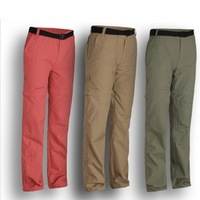 new 2014 fashion outdoor woman's quick drying pants and UV protection removable pants comfortable and safe  free shipping