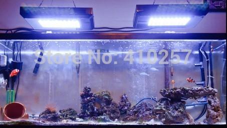 promotion LED aquarium light for coral reef tank lighting dropshipping(China (Mainland))