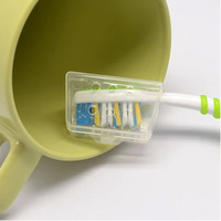 FREE SHIPPING!!! Travel toothbrush head protecting shell toothbrush head protection set E9623