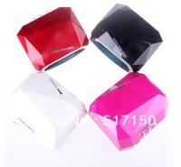 Mix wholesale 4pcs/lot 36W CCFL LED nail lamp new long life diamond led nail lamp gel nail polish dryer lamp with CE certificate