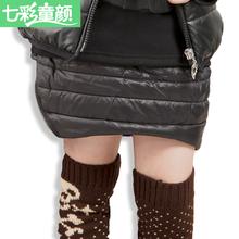 2014 new fashion girls clothes christmas skirt childrens clothing autumn / winter Cotton-padded skirt baby kids bust skirt(China (Mainland))
