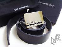 Free shipping 2014 brand dirk bikkembergs Genuine Leather mens belt cowskin waistbelt sash sportsman belt buckle fasion