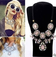 Free Shipping necklaces & pendants fashion Unique Europe items choker Necklace statement jewelry women