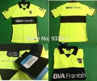 2014-2015 boca home and away soccer jerseys