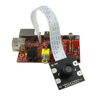 Raspberry Pi NoIR Camera Board /w M12x0.5 mount Lens fully compatible with official module
