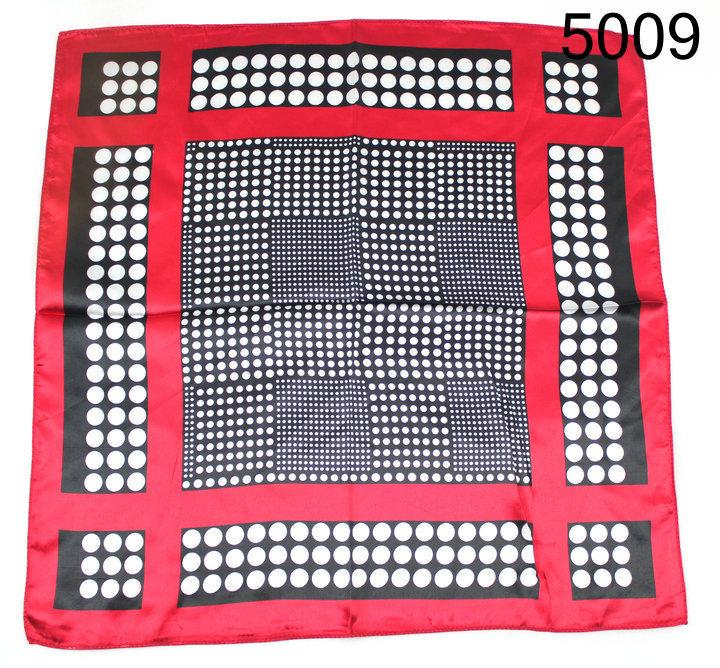 Free shipping 2014 New Design Small Square Scarf Polyester 50x50cm Handkerchief Cheap Satin Silk Scarv(China (Mainland))