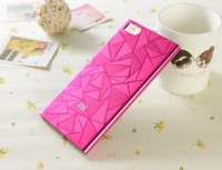 Aluminum Style Hard Back Cover Case for Xiaomi Mi3 M3 High Quality Mobile Phone Cases for Xiaomi 3