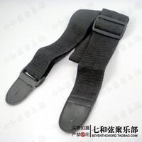 Free shipping Black folk guitar suspenders/guitar braces/guitar shoulder strap