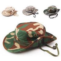 The jungle camouflage caps Multicolor sun hat, fisherman hat, fishing cap