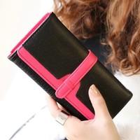 2014 new arrival women wallets  retro fashion   long style women's drew-string  wallet free shipping