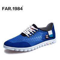 2014 new  summer  casual shoes breathable sport shoes gauze skateboarding  low-top network shoes for man