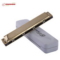 24 polysyllabic harmonica advanced gold c harmonica playing ks-24h holsteins
