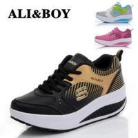 New 2014 spring summer women sneakers platform , losing weight platform tennis shoes , zapatos mujer zapatillas deportivas