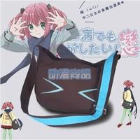 New chuunibyou demo koi ga shitai  Seven GongZhiYin cat Single shoulder bag backpack bag COS Messenger Bags