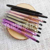 Multi color cute nylon hair lip brush no logo makeup brush mini portable makeup brush
