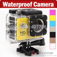2014 Action Camera Diving 30Meter Waterproof Camera 1080P Full HD sj4000 waterproof sport camera Underwater Sport Cameras
