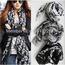 skull neck scarf promotion
