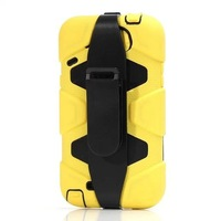 For Samsung Galaxy Note 2 N7100 Waterproof Shockproof Dirtproof Belt Clip Armor Military Duty Case + Screen protector