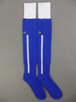 Factory Price,Embroidery Logo ITALY Home Blue Sock.2014 World Cup ITALY Style .Size L,Suit for 39-45 Size.