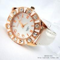 Fashion business casual classic diamond female table fashion watch quartz watch wild wholesale factory direct 616