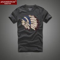 New 2014 Hot Summer Men's Tshirt 100% Quality Short Sleeve Cotton T-shirt Male Fashion Brand Slim T Shirt For Men S-XXL KT01