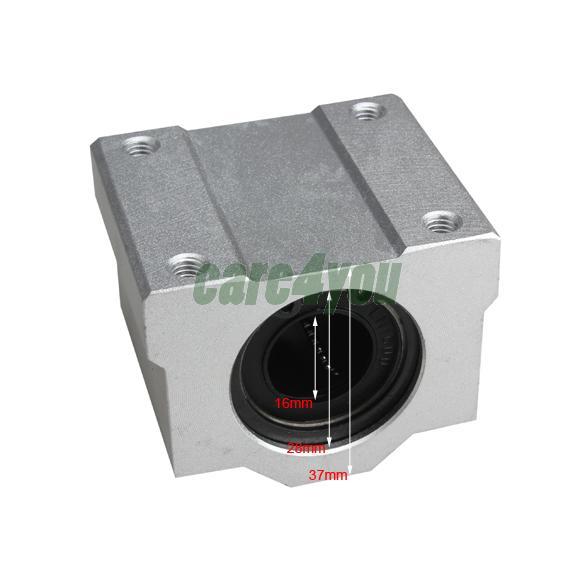16 mm SC16UU Linear Ball Bearing Slider Slide Bushing For Replacement CNC E#CH(China (Mainland))