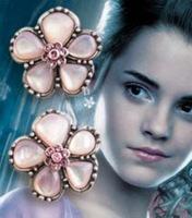 HARRY POTTER Earrings Harry potter HERMIONE'S Yule Ball Earrings - Silver Plated Fashion women 's jewelry