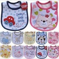 1pc Waterproof Cotton Carter's Bibs Infant Saliva Towels Baby Bibs & Towels Children Accessories