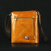 2014 New Men's High Grade Fashion Genuine Leather Mobile Messenger Shoulder Bag 9963-5 , Free Shipping