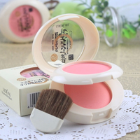 New Make-up lideal soymilk double layer blush two-color blusher combinations Pink orange