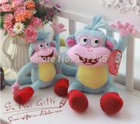"Free shipping 10"" Dora the Explorer  Monkey Plush/Stuffed aniamls Dolls Soft baby/kidsToy adventure time toys brinquedos girls"