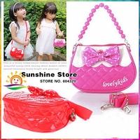 Sunshine store #8z024 3pcs/lot (5 colors) 2014 new spring lovely princess Bead chain Single shoulder bag women handbag desigual