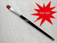 High quality imported nylon hair makeup eyeshadow brush long handle facial makeup brush tool