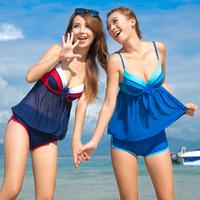 Sexy Swimsuit with Shorts Tankini Set Women Swimwear M/L/XL