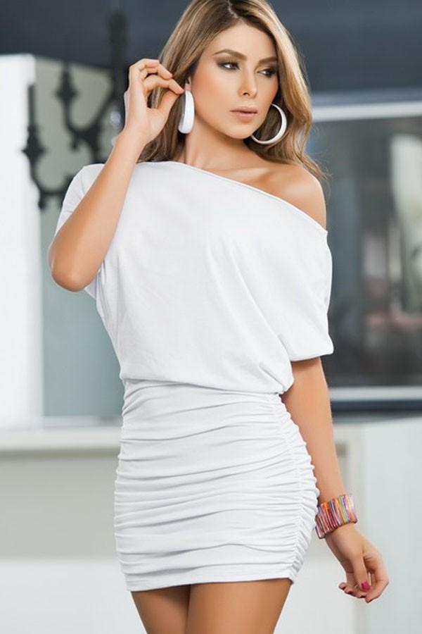 White Party Club Dress