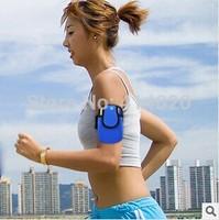 Wholesale Promotion Gift  Armband Sports Cell Phone Pocket Running Armband Bag Outdoor Key Card Bag Wristband Bag