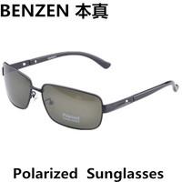 2014 Men sunglasses Polarized Vintage Sunglasses driver driving  glasses Classic Mens Sunglasses oculos  with case black 2046A