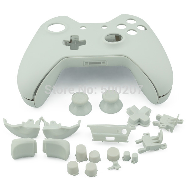 XBOX controller shell replacement shell Wireless Controller matte White Shell for Xbox ONE 100pcs per lot for wholesale(Hong Kong)