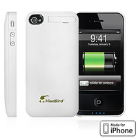 Kiwibird Made for iPhone Power Bank for iPhone 4/4S (1400mAh, MFi Certification)