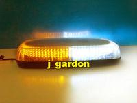 car lightBar source 304 LEDs  Strobe Emergency Warning Flash Waterproof Magnet LightBar Amber/White car styling Light Bar