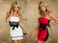vestidos de renda Women Wrapped chest patchwork sexy dress Backless clubwear dresses New 2014 Ladies bodycon dress Lace belt