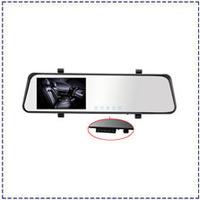 Dual Lens Mirror Camera 6000B Car DVR 4.3'' LCD Full HD 1080P Bluetooth Android 4.0 with GPS G-sensor Video Recorder Car DVR