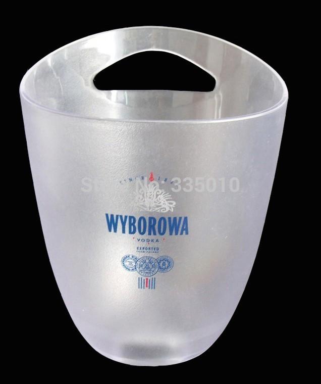 hoting sales ice bucket ,red wine plastic ice cooler , ice bag(China (Mainland))
