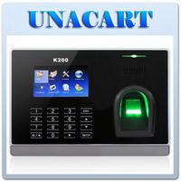 "3"" Color Touch Keypad Fingerprint Attendance Time Clock TCP/IP USB Free Software"