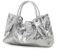 New Stylish 2014 Popular Women Silver Handbag Paillette Large Shoulder Tote Bag Sac Desigual bolsas innovative items