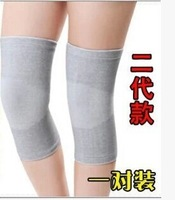 Autumn and winter ultra-thin breathable bamboo charcoal kneepad thermal summer air conditioning male female paint