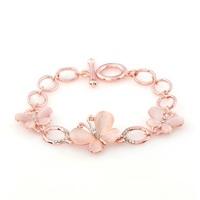 2014 Brand New Women Bracelet Gold Jewelry for Women Crystal Brangels Opal Bracelets ML-465