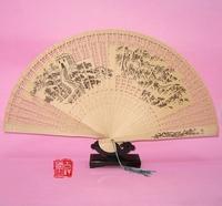 Women folding fan