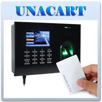 Employee Fingerprint ID Card Reader Time Attendance Clock PC Management Software